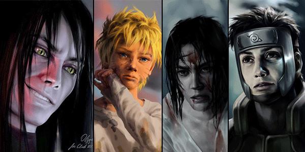 наруто фото персонажей